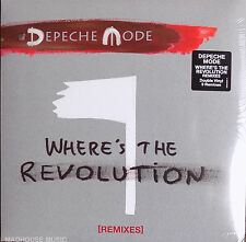 "DEPECHE MODE 12"" x 2 Where's The Revolution REMIXES Double VINYL Sealed"