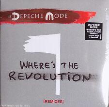 "DEPECHE MODE 12"" x 2 Where's The Revolution REMIXES Double VINYL Sealed"