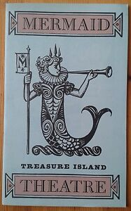 Treasure Island programme Mermaid Theatre 1959 John Hall David Airey Colin Ellis
