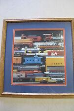 Lionel D & R G W Alaska Train Framed Picture