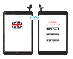 NEW iPad Mini 1/2/3 Front Glass Digitiser Touch Screen A1432 A1489 A1599