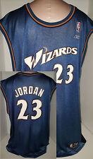 Vintage Reebok Washington Wizards #23 Michael Jordan NBA Jersey XXL  2XL Blue