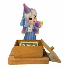 "High quality wooden baby tooth holder ""Tooth Fairy"". Milk teeth box organizer"