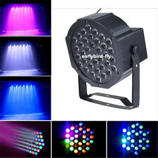 36W 36 LED Par Lights Lamp with US EU UK Plug For Club DJ Party Stage DMX