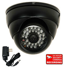 "Dome Security Camera with 1/3"" SONY Effio CCD 700TVL CCTV Day Night Outdoor 3pa"