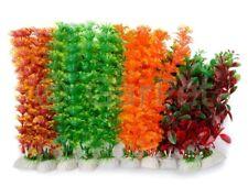 10x Aquarium Wasserpflanzen Set Aquarien Künstliche Pflanze Sparset Kunstpflanze
