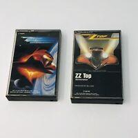 Lot Of 2 ZZ Top Cassette Tapes Eliminator Afterburner