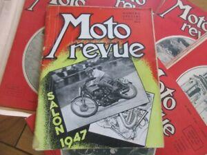 LOT X23 N°  MOTO REVUE ANNEE 1947 SPECIAL SALON TERROT MOTOCYCLISME CYCLECARS