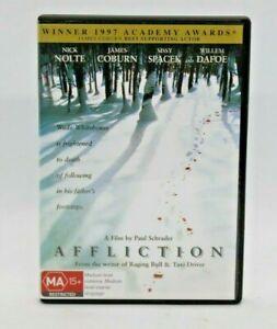 Affliction DVD Nick Nolte Sissy Spacek Free post