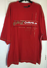 men 5x t shirt short sleeve urban with applique and prints NWT