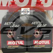 2 Litri Olio Trasmissione Cambio Differenziale Motul MOTYLGEAR 75W85 API GL4 GL5