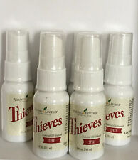 Lot of 6 Thieves Spray by Young Living-1 FL OZ EACH - NEW Batch!