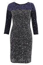 ICONIC BNWOT 8 FRENCH CONNECTION SPIEGAL MULTI SEQUIN PARTY DRESS RRP £275