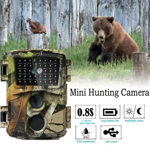 Waterproof Wildlife Hunting Trail Camera 1080P 12MP Photo Trap PIR Night Vision