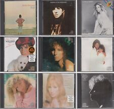 BARBRA STREISAND People-Joan-Classical- Songbird-Wet-Guilty-Emotion 9 CD Lot 70s