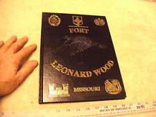 Fort Leonard Wood Missouri  1st Eng Br  3rd Eng Bat Comp C Class Book, 1/9/14