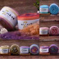 Mohair Wool Yarn Crochet Hand Knitting Soft Dyed Plush Thread Thin Colorful 50g
