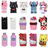 For Samsung Galaxy S9 S9 Plus 3D Case Cover Cute Cartoon Animals Soft Silicone