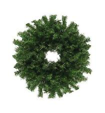 """30"""" Traditional Green Canadian Pine Artificial Christmas Wreath - Unlit"""