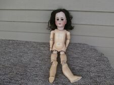 """Lovely Antique 22"""" Simon Halbig Bisque Head Doll, Compo Body - Germany"""