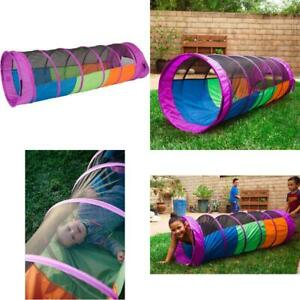 Pacific Play Tents Kids Peek-A-Boo I See You 6 Foot Crawl Tunnel - Multicolor