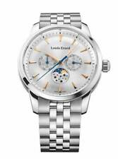Louis Erard Men's Watch Heritage Collection Moon Phase White Stainless Steel