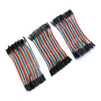 120pcs Dupont Wire Male to Male + Female to Female +Male to Female  Jumper Cable