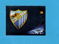 PANINI-CHAMPIONS 2012-2013-Figurina n.210- SCUDETTO/BADGE -MALAGA-NEW BLACK