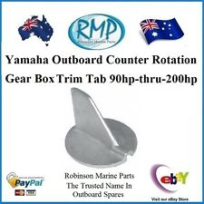 A Brand New Trim Tab Anode Suits Yamaha Outboards 90hp-thru-200hp # CDZ9-40