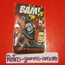 Bam Box Exclusive, Jason Voorhees Hat Pin, Friday the 13th Mask, Lim. ed. Sealed