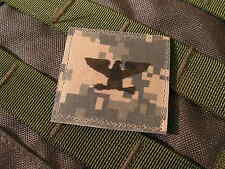 Galons US - COLONEL - grade scratch ACU DIGITAL rank insignia SNAKE PATCH