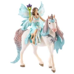 Schleich Bayala Fairy Eyela with Princess Unicorn Collectable Figure 70569 NEW