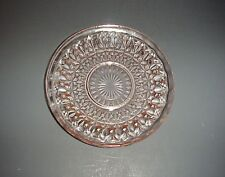 Pink Depression Glass Saucer