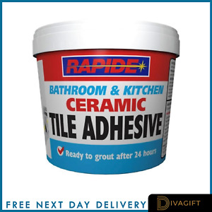 Waterproof Tile Adhesive Bond It Fix And Grout Ready Mixed Grout White 1kg