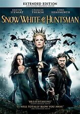 Snow White and the Huntsman (DVD, WS, 2012) NEW