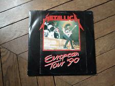 METALLICA Europeen tour 90 2LP Live in Zwolle
