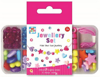Kids Create Childrens Make Your Own Jewellery Beads Set