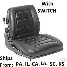 NEW FORKLIFT SEAT SUSPENSION & WEIGHT ADJUSTMENT WITH SWITCH, CAT, YALE, TOYOTA
