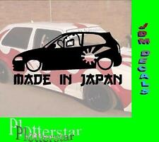 Made in Japan Domo Auto JDM Sticker Aufkleber oem Power fun like Shocker Hater