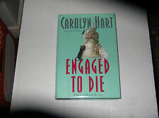 Engaged to Die by Carolyn Hart (2003) SIGNED 1st/1st