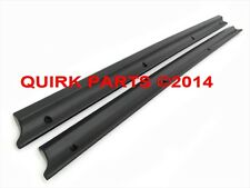 1992-2011 Ford Ranger Left & Right Side Front Black Door Scuff Plates OEM NEW