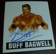 Buff Bagwell Signed 2012 Leaf Originals Pro Wrestling Legends Card WWE Auto WCW