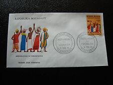 MADAGASCAR - enveloppe 9/12/74 - fokonolona - yt n° 552 - (cy7)