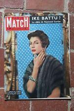 PARIS MATCH 390 29/09/1956 Ike Presley Stroud P. Valery
