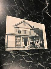 Rare Suffield CT Connecticut RPPC Photo Postcard PC Reid's Antique Moxie Soda