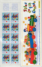 FRANCE 2000 RED CROSS SURTAX/TOY AIRPLANE/GIFTS/STARS/CLOUDS/CHARITY/AID booklet