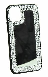 Phone Case Mirror Diamond Crystal Cover For iPhone 11