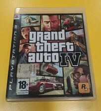 GTA 4 Grand Theft Auto IV GIOCO PS3 VERSIONE ITALIANA