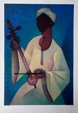 """Louis TOFFOLI - """"Le Nubien"""" - Lithographie originale signée - 1977"""