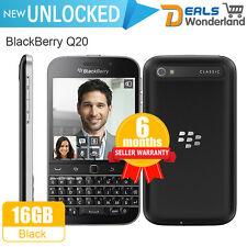 Unlocked BlackBerry Q20 4G LTE Smartphone 16G Black